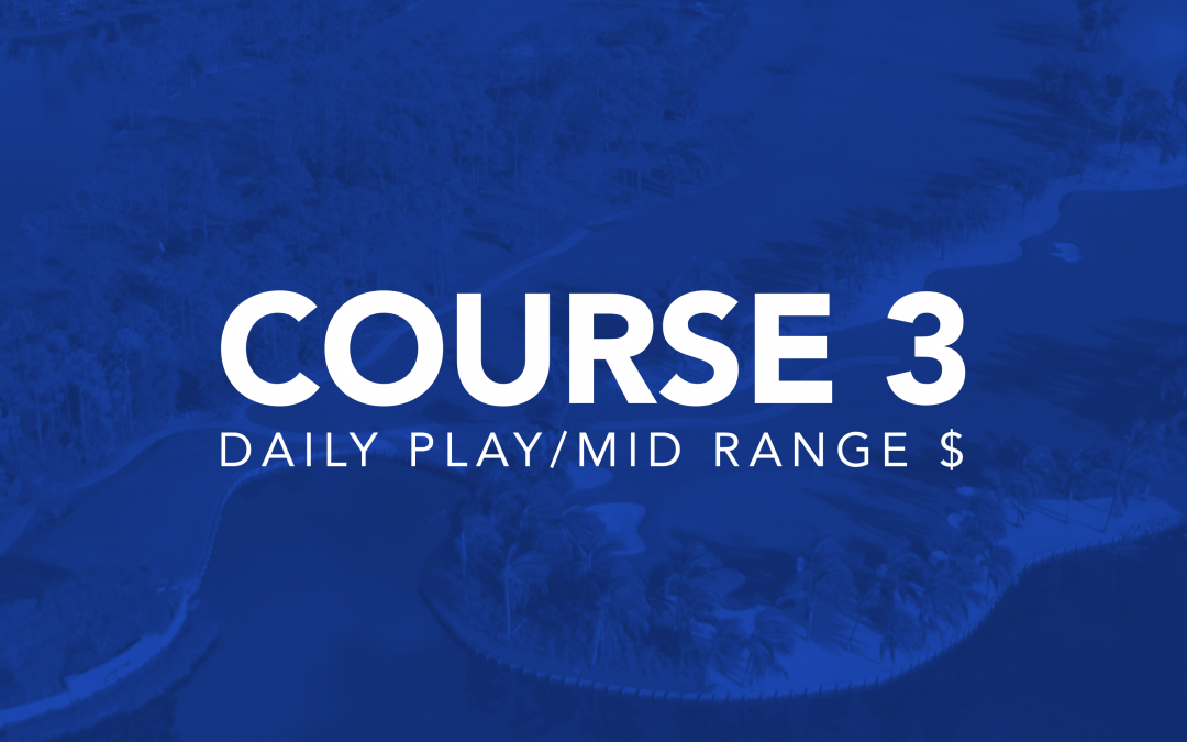 Course 3: Daily Play/Mid Range $